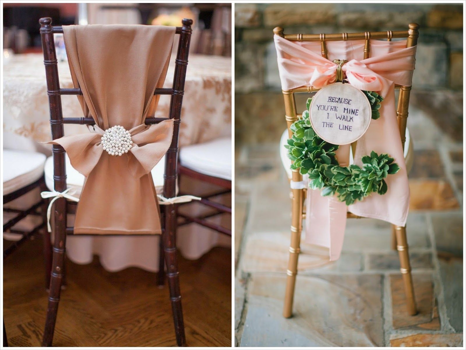 Decoracion Sillas Boda Sillas Decoradas Con Telas Boda Pinterest Sillas