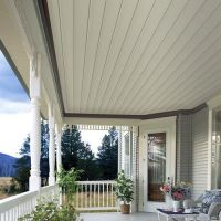 beaded soffit to cover ugly porch ceiling | Dream Home ...