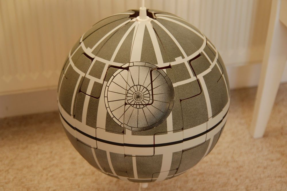 Ikea Lampe Küchenschrank Star Wars Todesstern Death Star Lampe Ikea Ps 2014 Orange