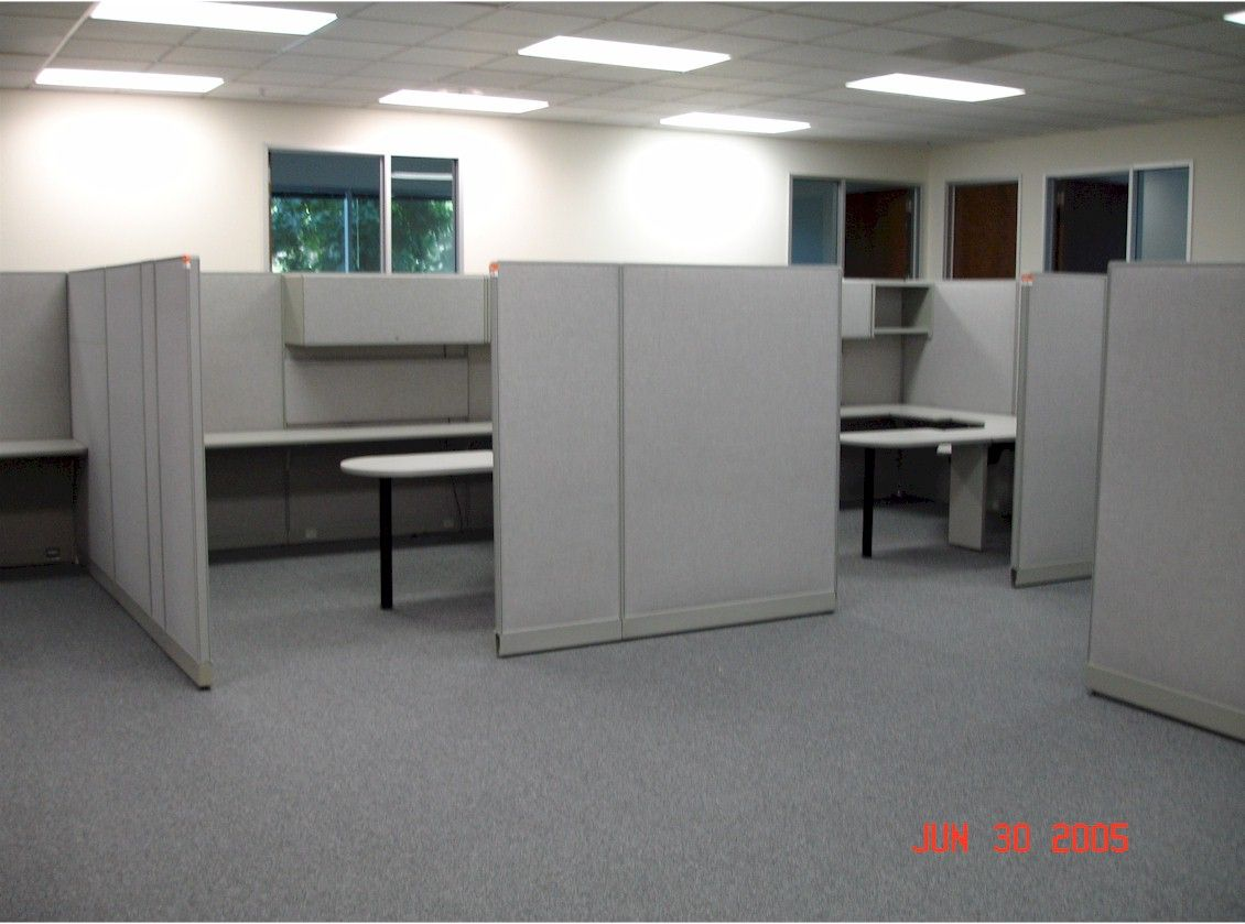 Standing Desks Officeworks Cubicle Layout Ideas Google Search Office Pinterest