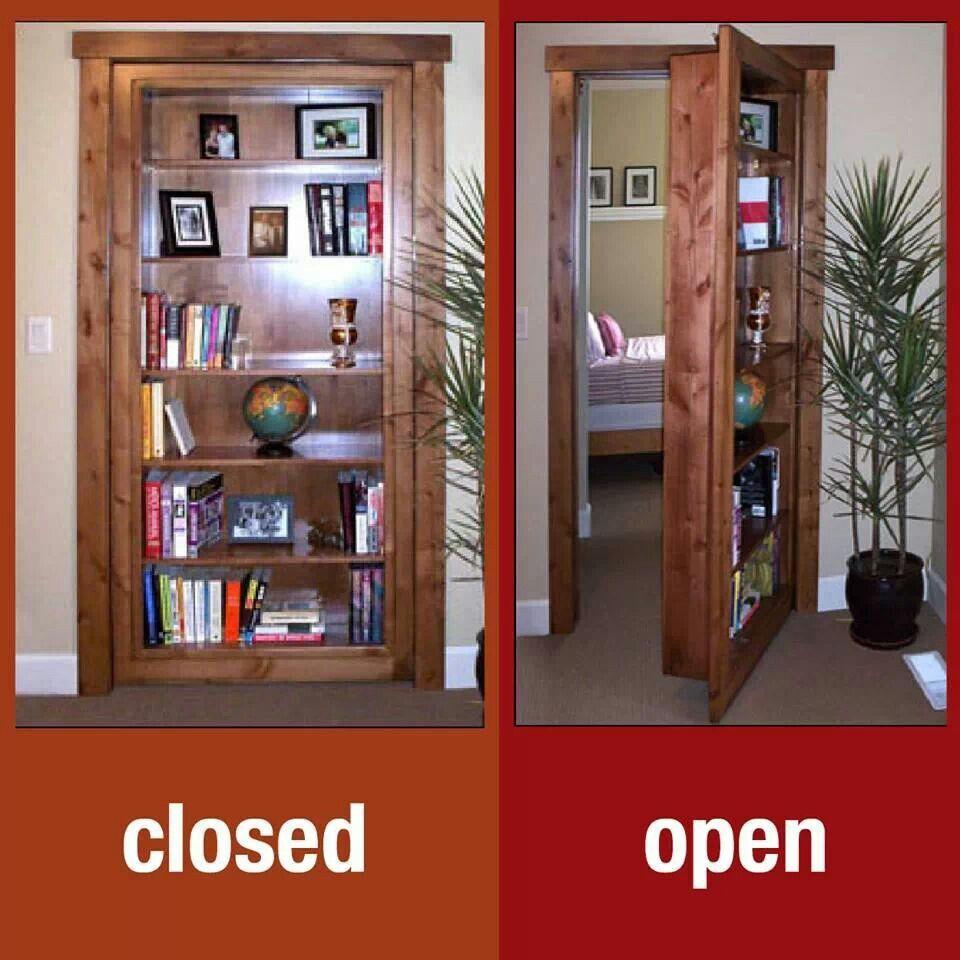 Secret Room Bookcase Door Home Decor Pinterest