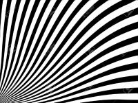Abstract Vector Striped Background With Black And White ...