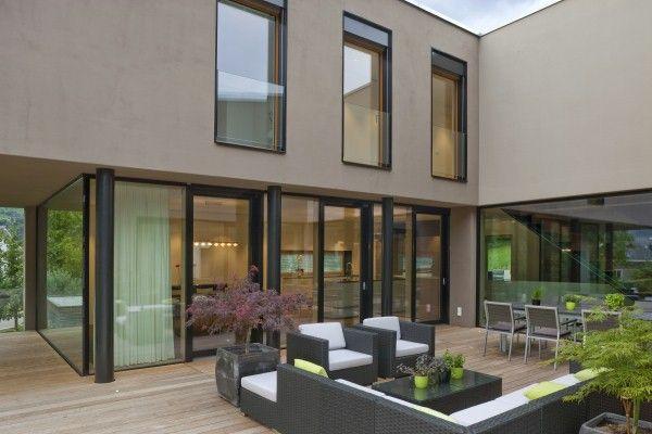 Einfamilienhaus u2026 Pinteresu2026 - fassadenfarbe haus