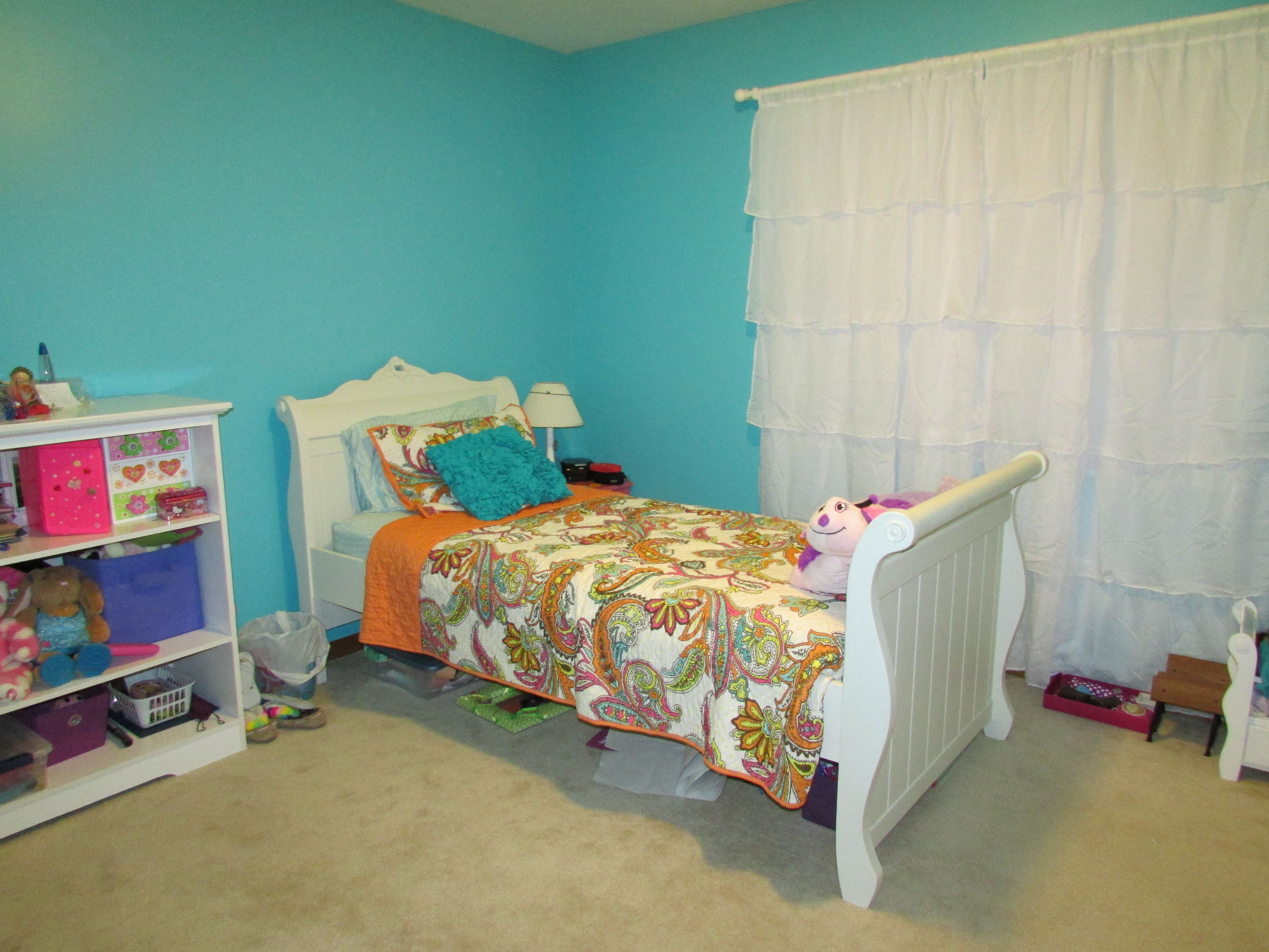 New Colours For Bedrooms K 39s New Room New Paint Color Gem Turquoise By Behr
