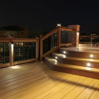 DIY Outdoor LED Deck Lighting - This outdoor LED recessed ...