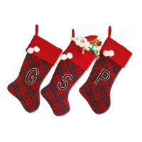 Monogrammed Christmas Stocking - Christmas Cards