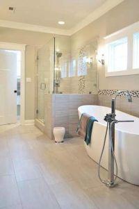43 Amazing Bathrooms With Half Walls | Half walls, Amazing ...