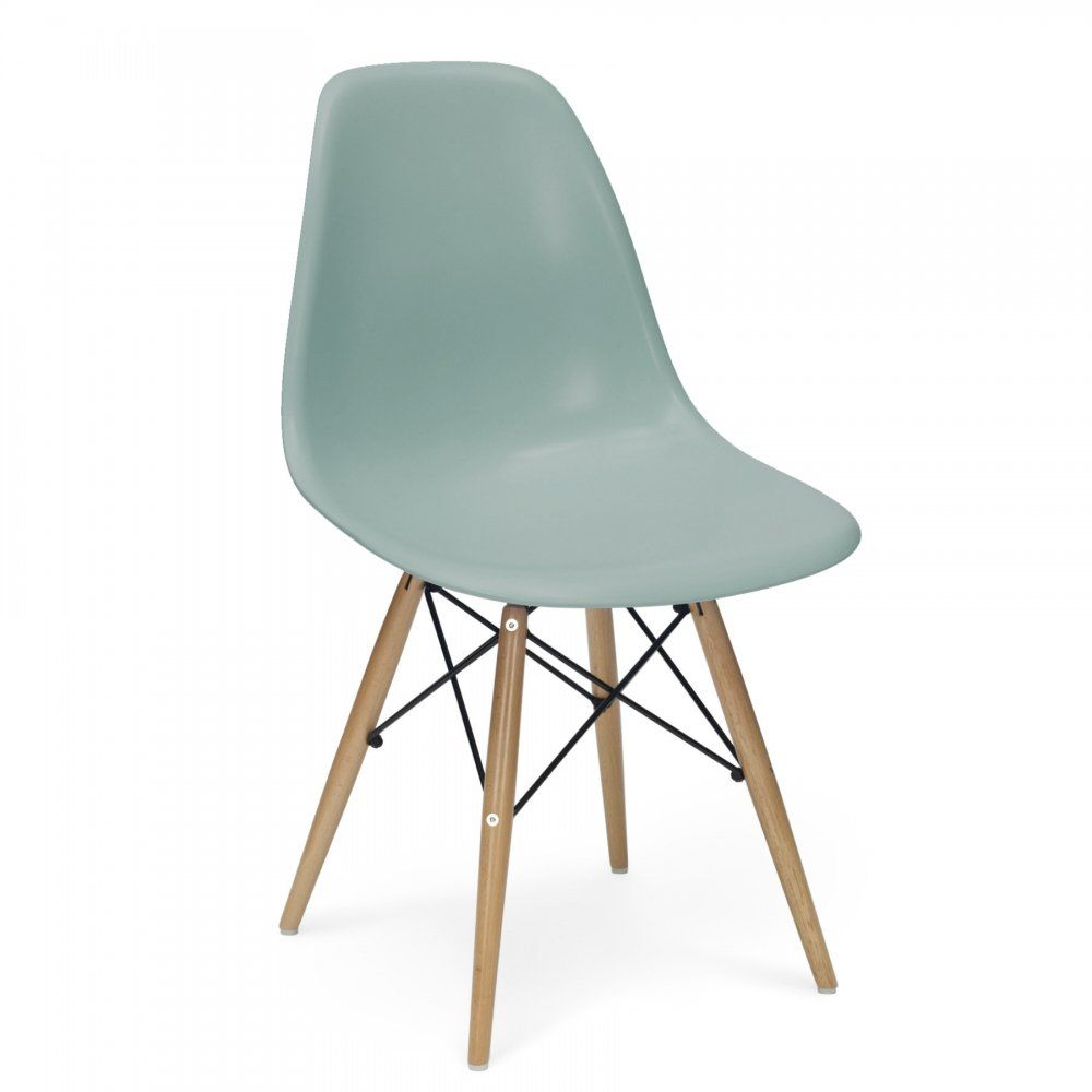 teal kitchen chairs Iconic Designs DSW Chair Soft Teal