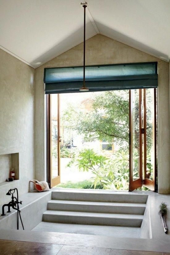 Wohnideen Traumbad Tür Badewanne modern Bad Pinterest Bath - wohnideen modern