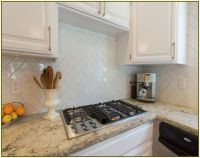 Herringbone Subway Tile Backsplash | MLSuite | Pinterest ...