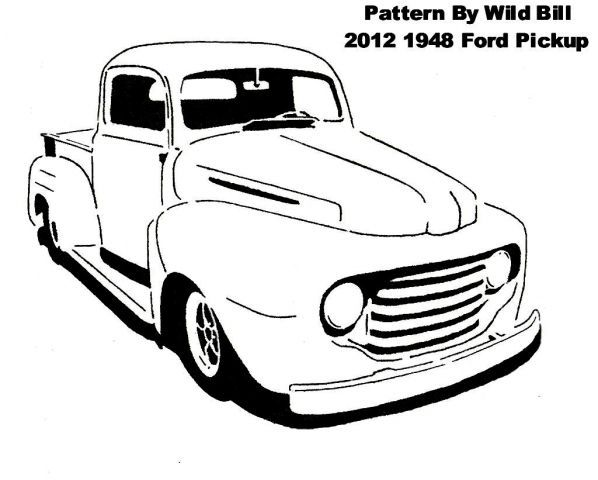 1948 ford truck cast s