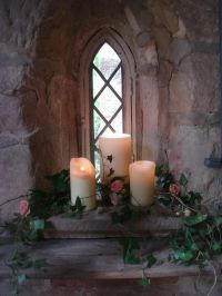 church window decoration for wedding | wedding | Pinterest ...