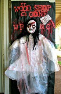 Decoration, Scary Spooky Voodoo Doll For Halloween Door
