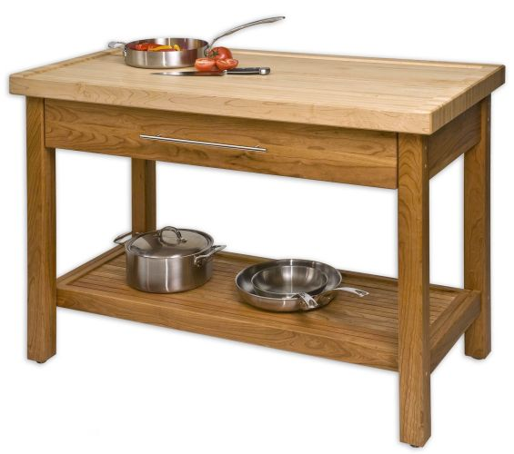 kitchen island table unfinished teak wood kitchen island table stand with