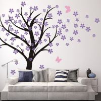 Amazon.com - Cherry Blossom Wall Decals Baby Nursery Tree ...