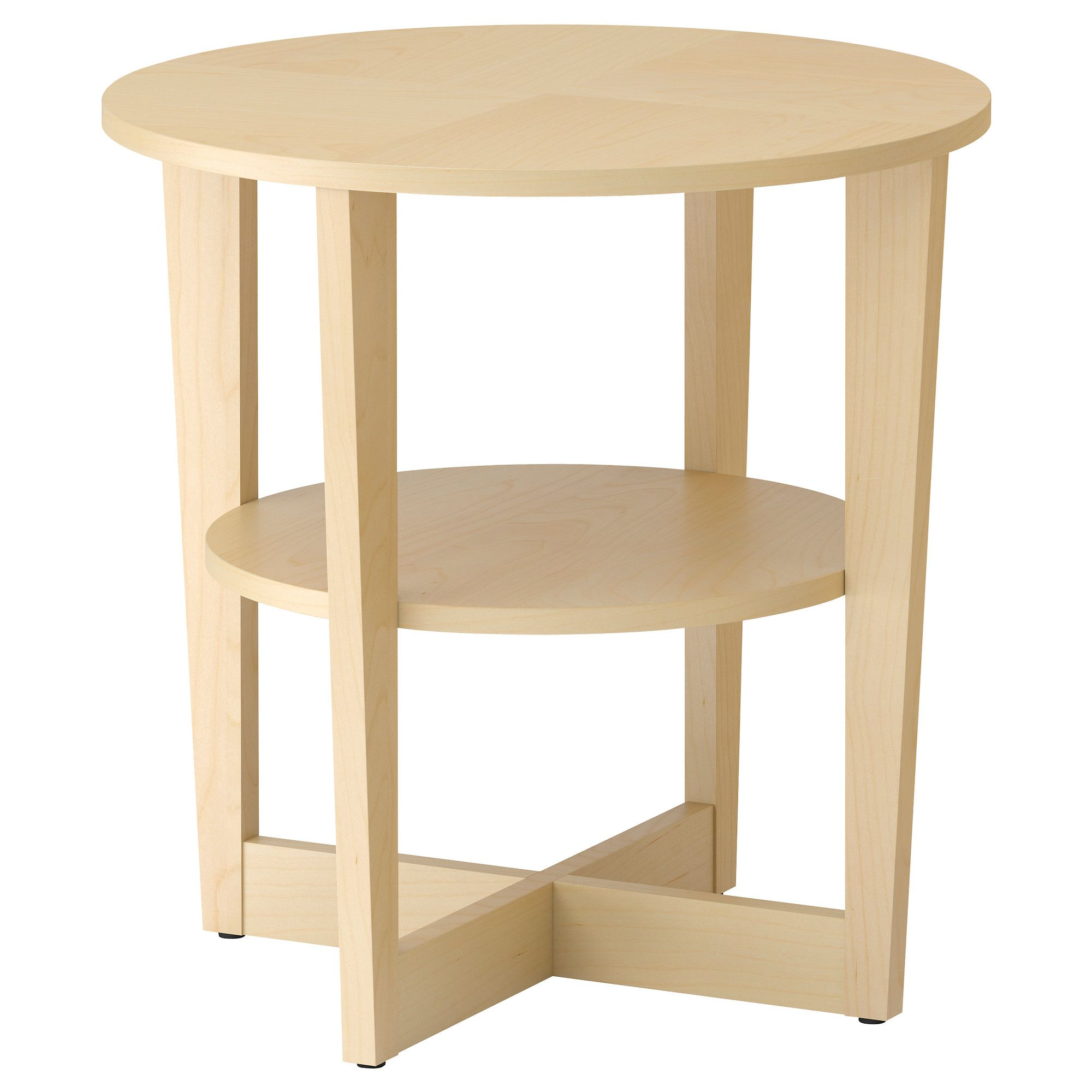 Side Table Idea Vejmon Side Table Birch Veneer Ikea Palmetto By Martha