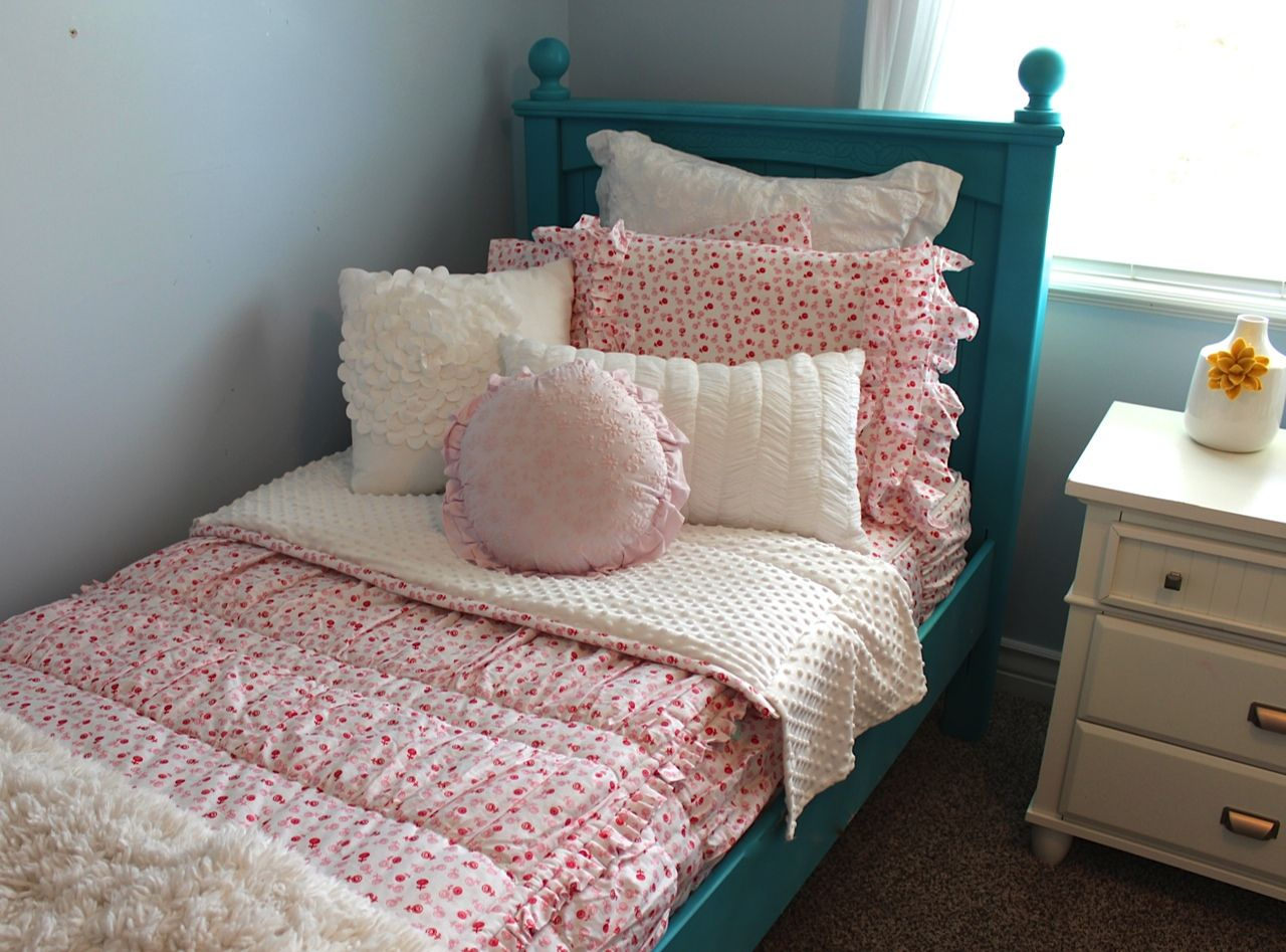 Zip Together Beds Ruffled Rosette From Beddys Easy Zippered Bedding With