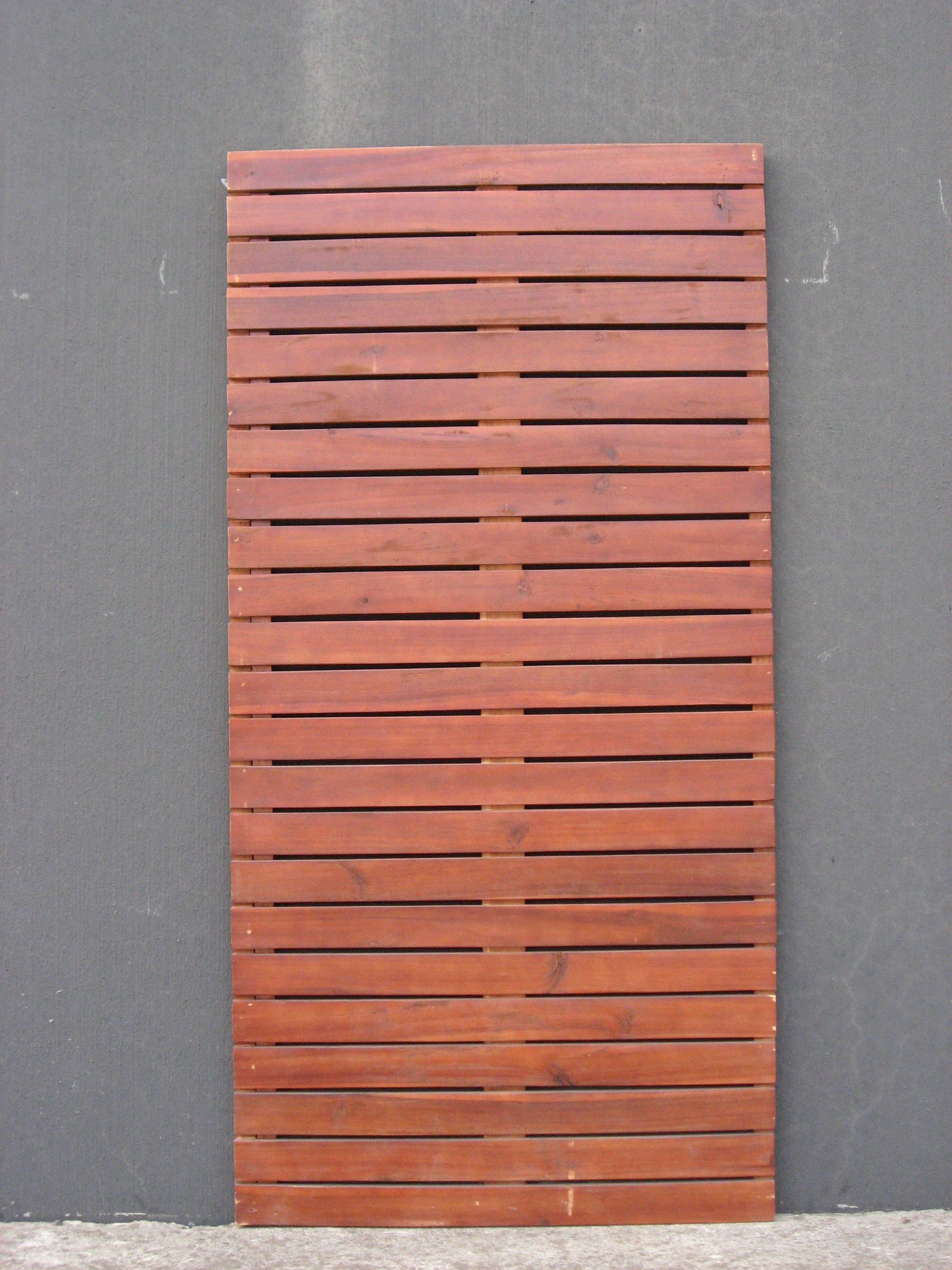 Bunnings Furniture Cover Screen Panel Timber 1800x900x30mm Vertical Slat Bunnings