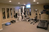 weight room on Pinterest | Home Gyms, Basement Gym and ...