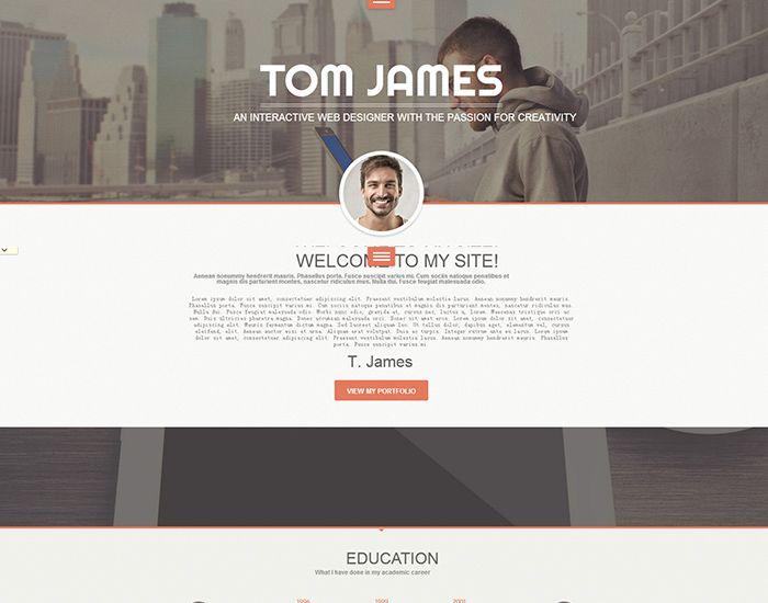 Best WordPress Resume Theme - Web Designer Help Getting Job - wordpress resume template