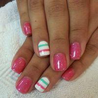 60 Beautiful Pink Nail Art Designs Ideas | Spring nails ...