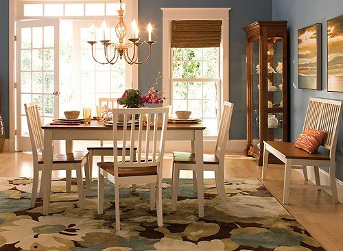 Ashby 6-pc Dining Set Dining Sets Raymour and Flanigan - raymour and flanigan living room sets