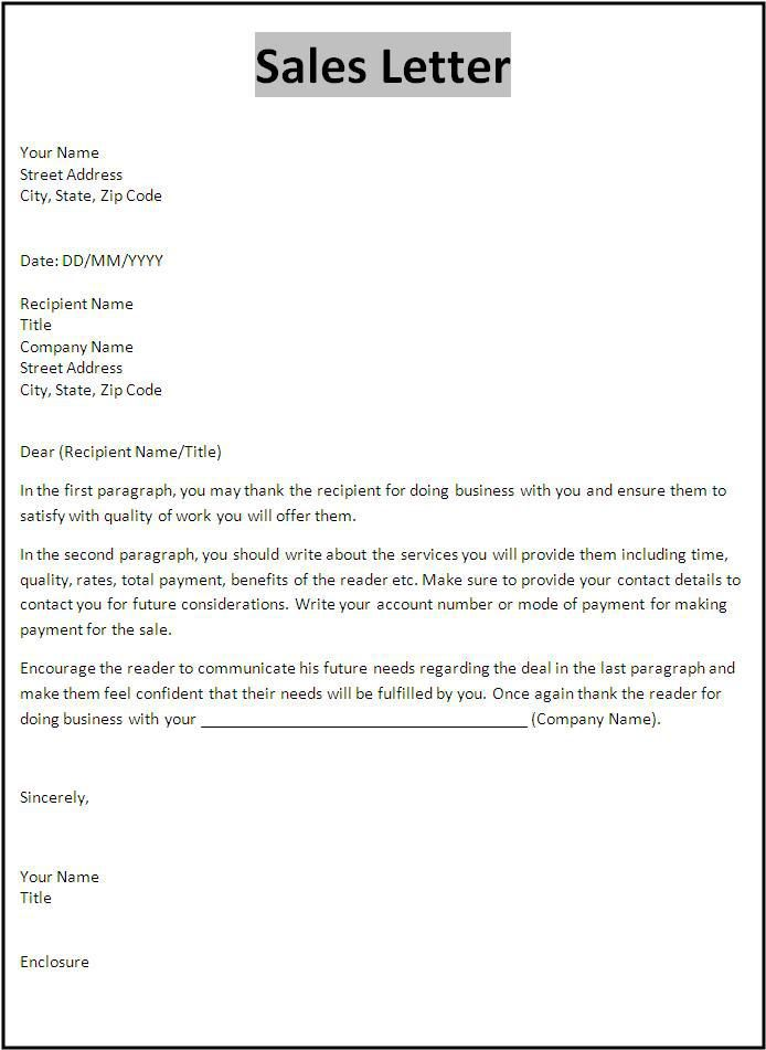 Sales Letter Template Templates Pinterest Letter templates - no objection certificate template