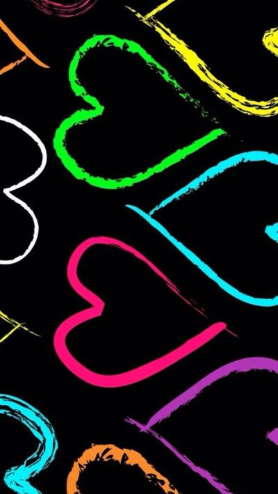 Color heart #iPhone #5s #Wallpaper | Blow up my phone | Pinterest | Iphone 5s wallpaper, iPhone ...
