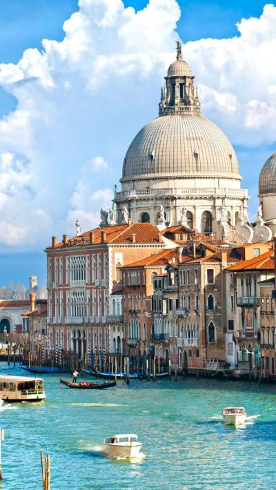 Venice Grand Canel, Italy iPhone 5 wallpapers, backgrounds, 640 x 1136 | тяανєℓ♡ | Pinterest ...