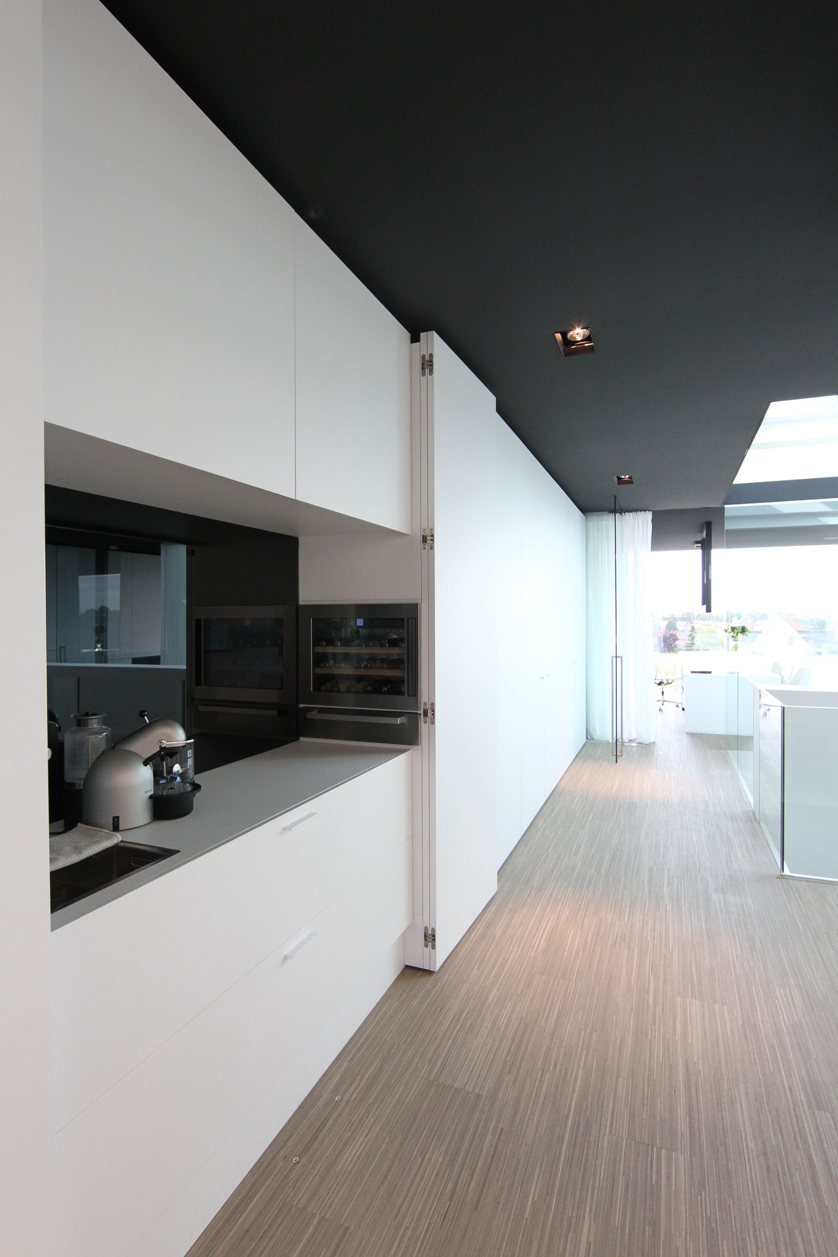 Minimalist Kitchen Design Pinterest Office At Luxhome With A Hide Away Kitchen Area With A