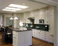 Amazing Open Galley Kitchen Design : Elegant Open Galley ...
