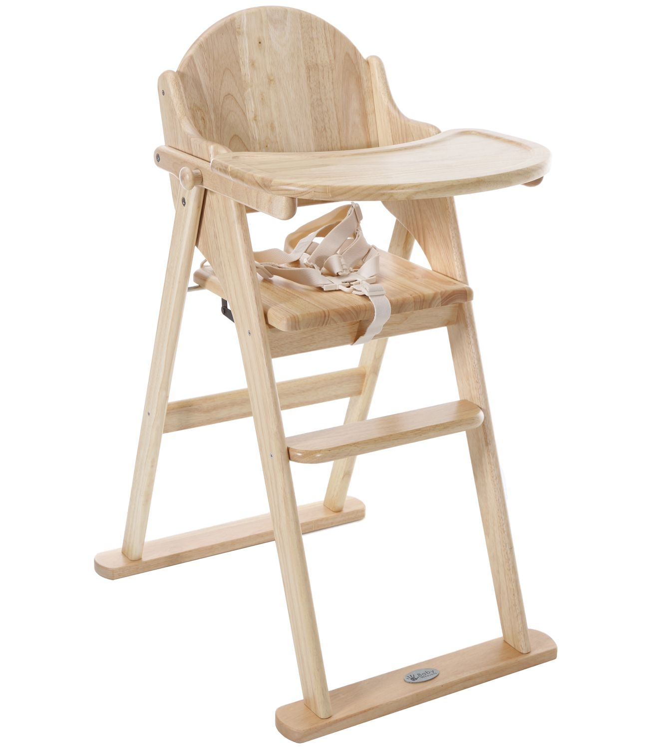 Buy High Chair Buy Your Baby Weavers Wooden Folding Highchair Natural
