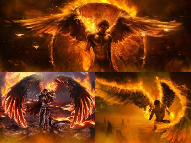 Mystical Creatures In The Fall Wallpaper Free Animated Screensavers With Sound Fallen Angels