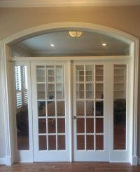 Interior French Doors Transom Carpenters Cabinet Makers ...