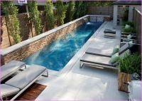 lap pool in small backyard