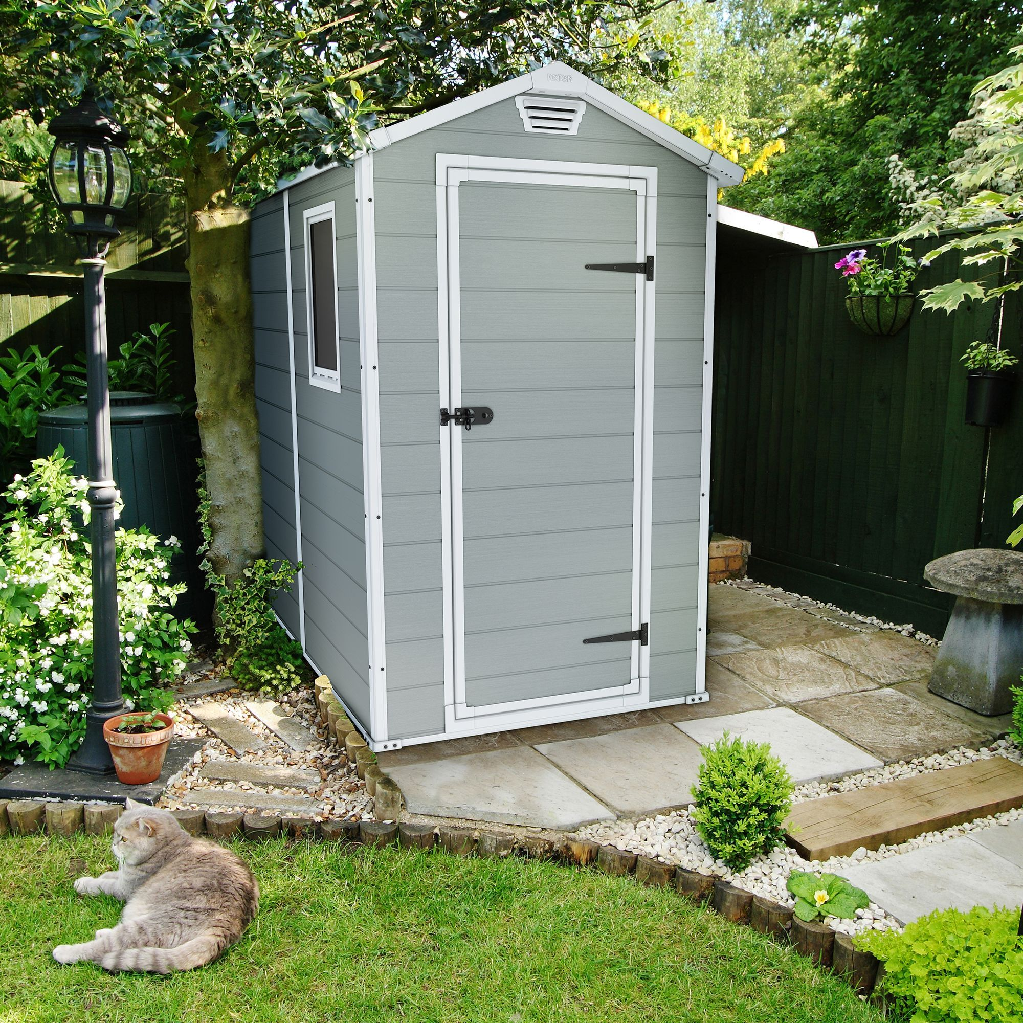 6x4 Manor Apex Plastic Shed Garden Ideas Gardens And Coops