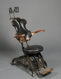 Antique Chairs | Antique Dentist Chair Sold By Skinner For ...