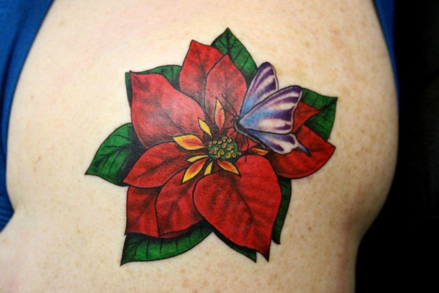 Tattoo Iphone 6 Wallpaper Gallery Poinsettia Flower Tattoos