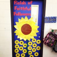 Catholic school fall door decoration ideas for teachers ...