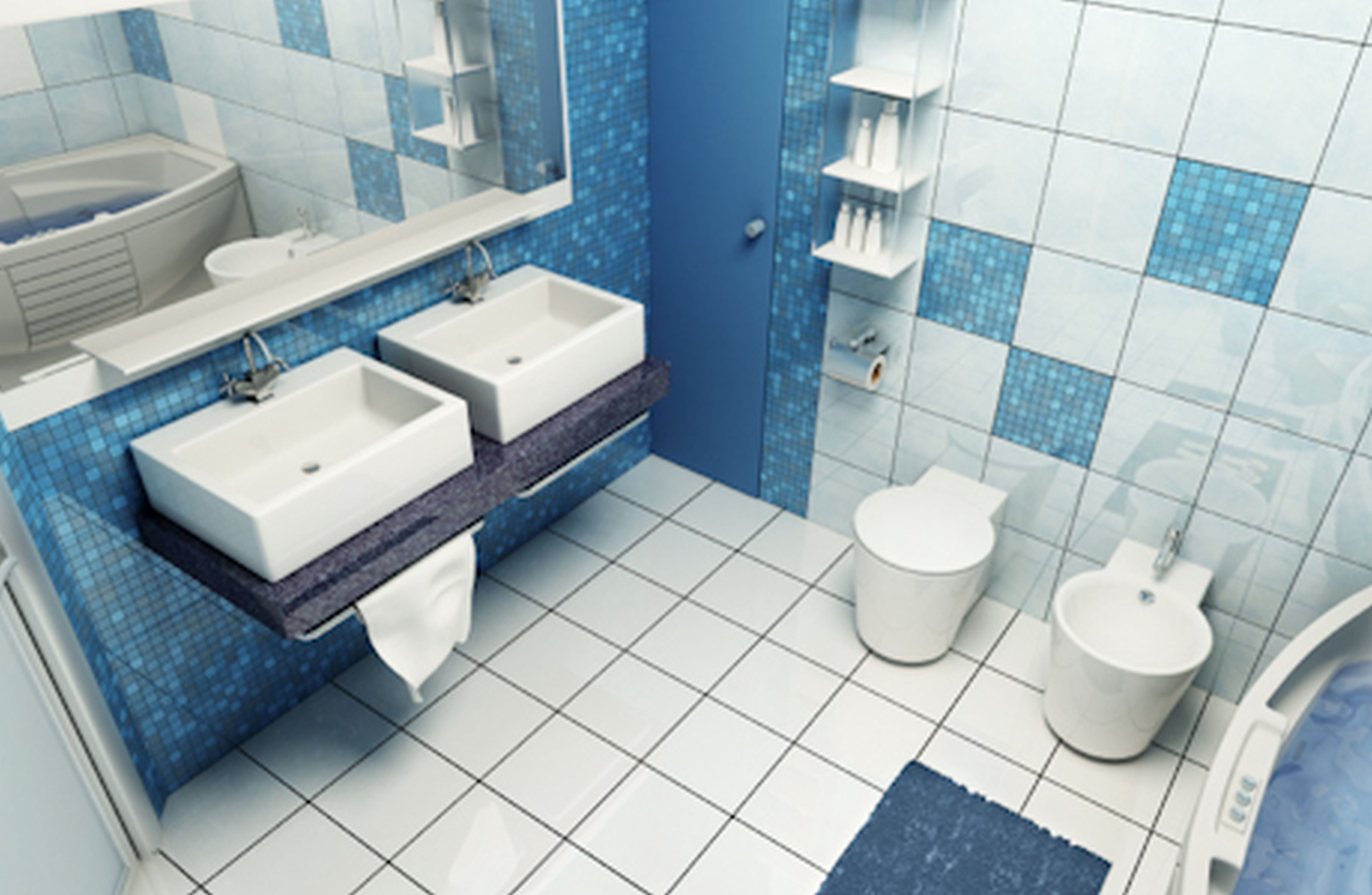 Blue Bathrooms Pictures White And Blue Bathroom Living Room Pinterest Small