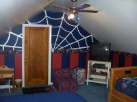 Decorative Spiderman Bedroom Set: Rooftop Spiderman ...