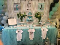 Uptown giraffe themed baby shower decorations | Bem's ...
