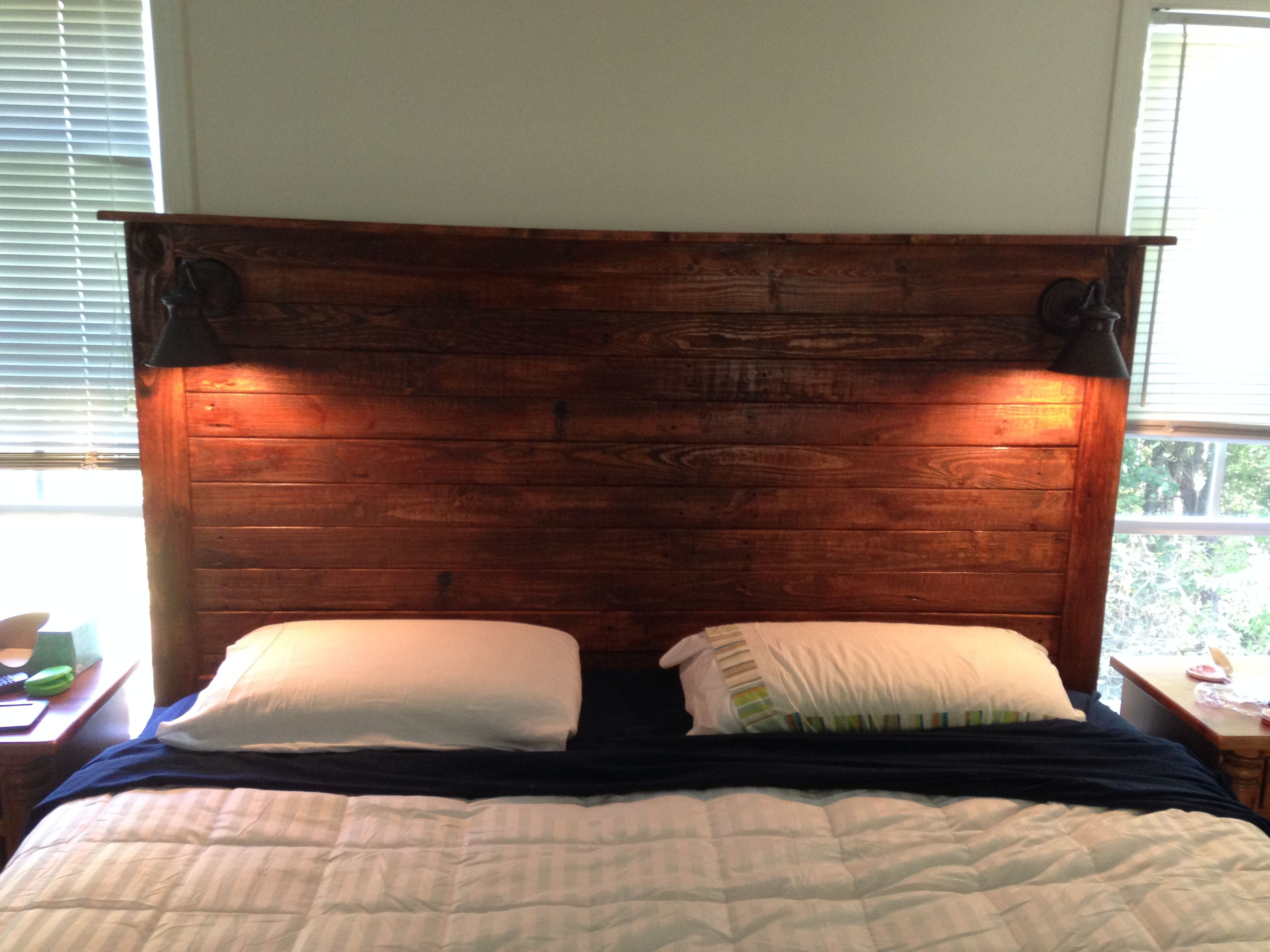 Reading Lights For Bunk Beds King Size Headboard Made From The Pallets That The Bed