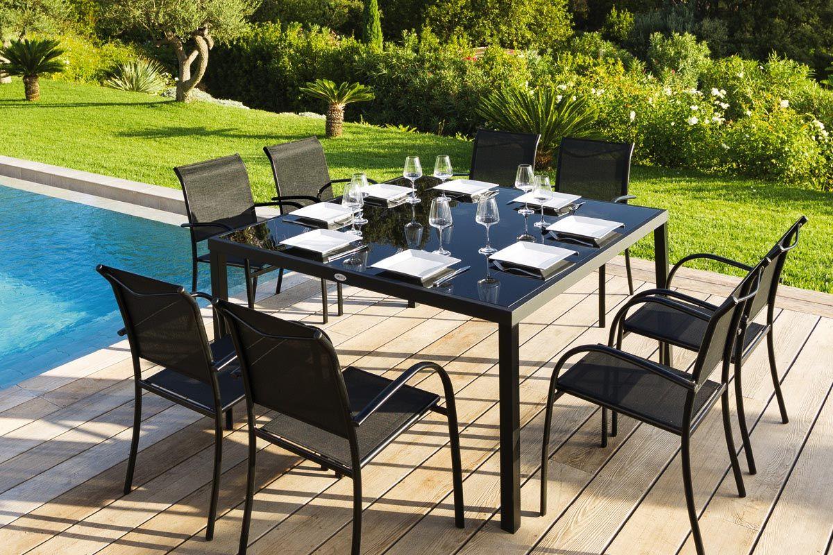 Salon De Jardin Piazza | Soldes Hesperide Élégant Awesome Table De ...