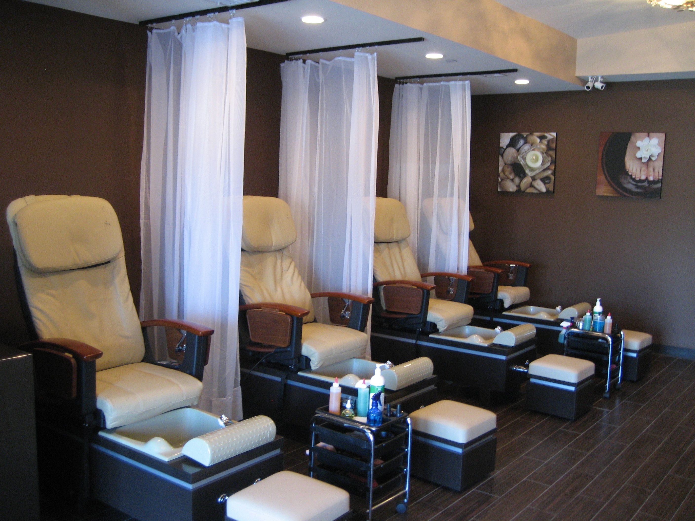 Salons Design Small Nail Salon Interior Designs Google Search Misc