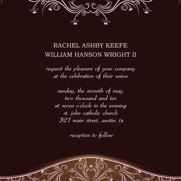 Wedding Invitation Templates Microsoft Publisher Wedding - microsoft templates invitations