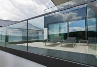 Glass Viewing Railings : Upper Deck | Trigg Residence ...