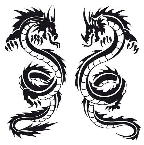 dragon tattoo design - Buscar con Google Guerrero Azteca - tattoo template