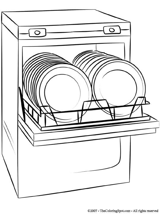 dishwasher wiring black white green
