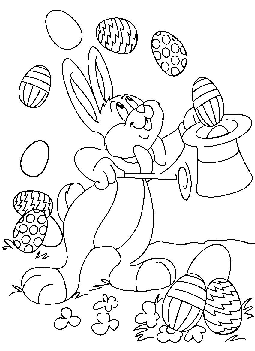 Free easter coloring pages for toddlers - Free Easter Coloring Pages For Toddlers 11